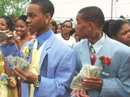 пафосная Афро-американская свадьба