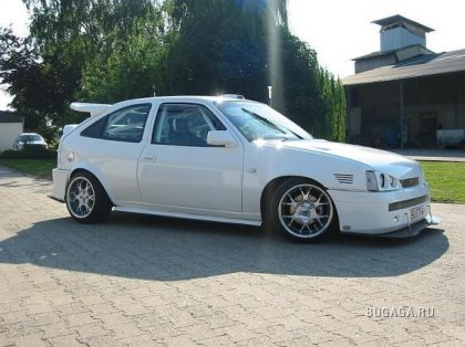 Opel Kadett - Monster Tuning
