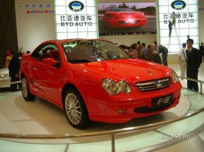 Автовыставка китайского автопрома