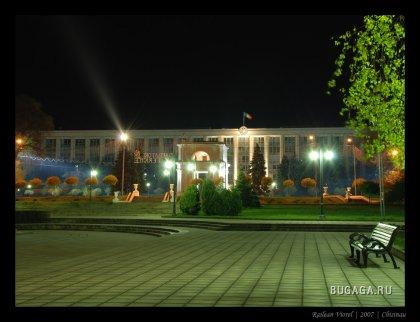 Ночной Кишинёв