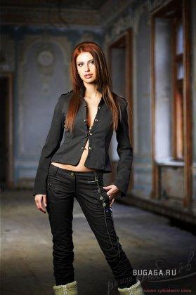 Экслюзивные фото Натальи Барбу - участницы Евровидение 2007