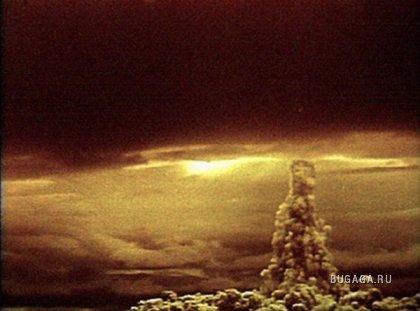 Самый мощный взрыв водородной бомбы