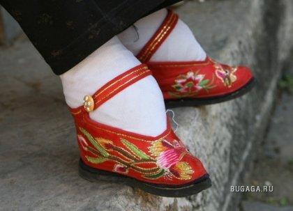 Женские китайские ножки - жесть