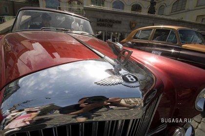 27 мая, Москва, Третьяковский проезд. 5-е ралли классических автомобилей LUC Cho