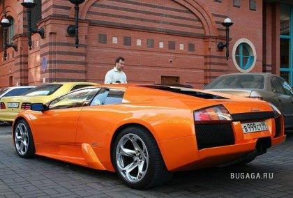 Какие машины можно встретить в Москве)