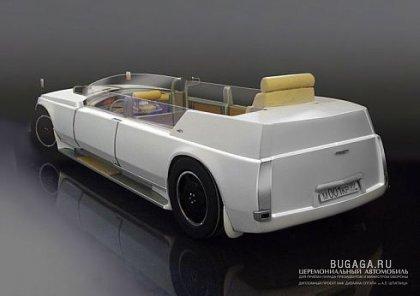 Новый русский автомобиль для президента!!