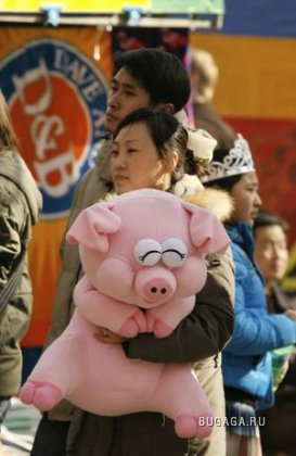 Китайцы по всему миру празднуют Новый Год