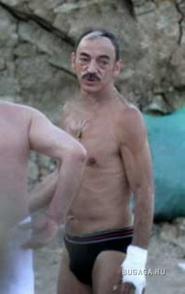 Михаил Боярский без шляпы.
