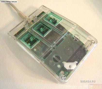 История компьютерных мышек. Такими они были раньше.