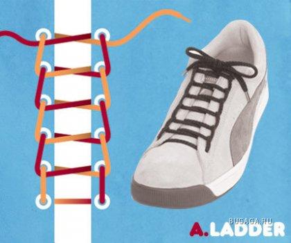 15 модных шнуровок
