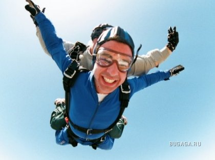Skydiving...