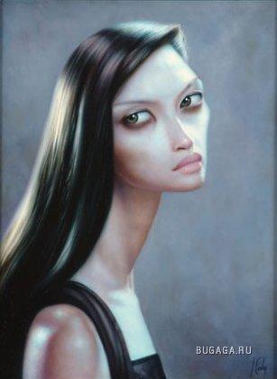 Lori Earley.Инопланетные глаза