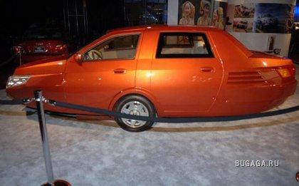 Rhombus - очень необычный концепт автомобиля