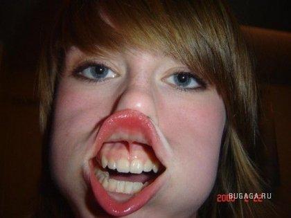 Язычки и зубки