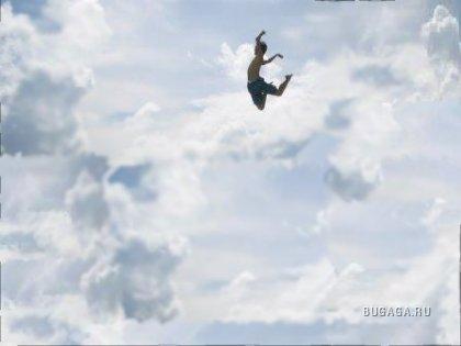 А ты умеешь летать?!