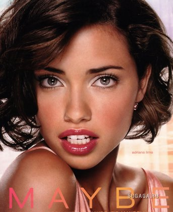 Adriana Lima for Maybelline