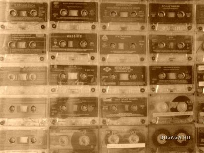 Don't we just all love the old music casettes.{II}