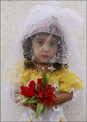 Самая молодая невеста в мире!