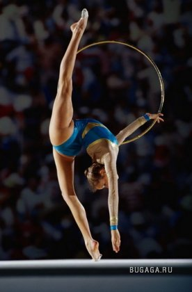 """Схема вышивки  """"Спорт.гимнастка """": таблица цветов."""