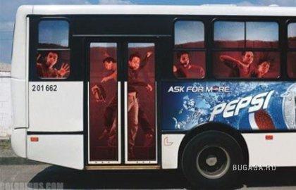 Креативные автобусы