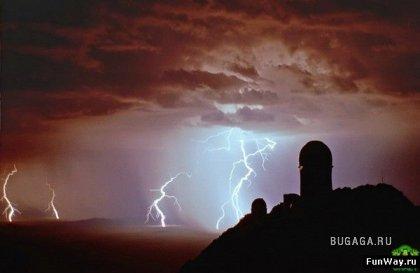 Молния в фотографиях