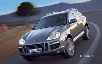 История угона 4 Porsche Cayenne