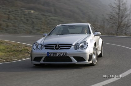 Mercedes CLK 63 AMG Black Series