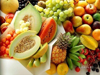 фрукты и прочее ...