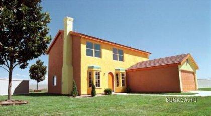 Фанаты Simpsons построили себе такой же дом