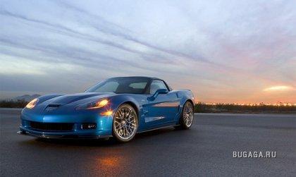 Новый суперкар Chevrolet Corvette ZR1